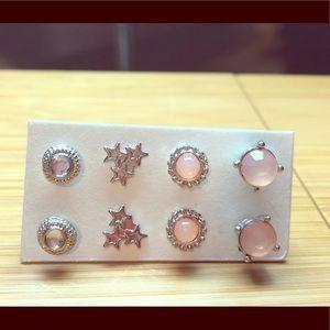 4 Piece Earring Set